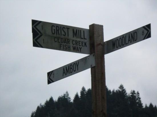 The cedar creek grist mill sydney of oysterville for The cedar mill