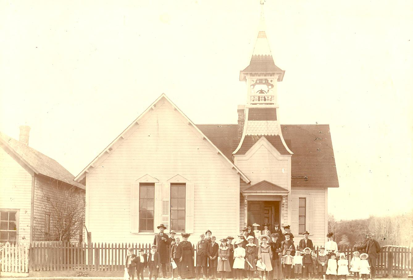 Oysterville Baptist Church 1903