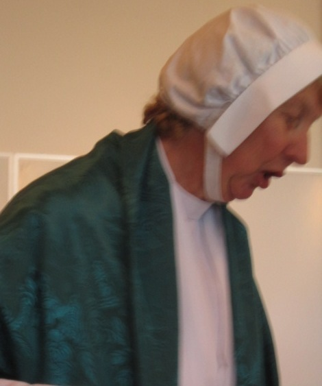Rowena Oesting as Elizabeth Fry