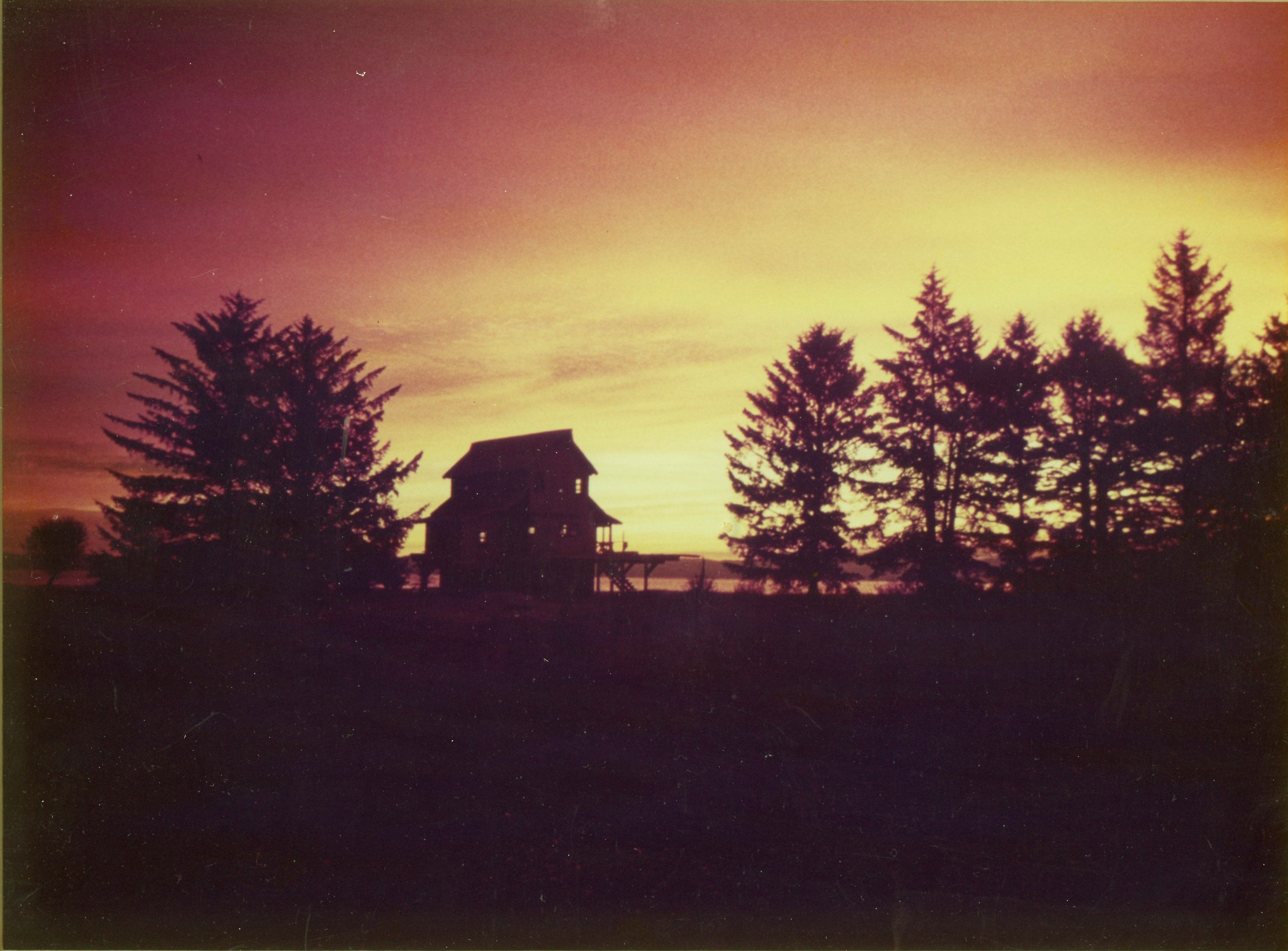 Sunrise at the Bay House 1980