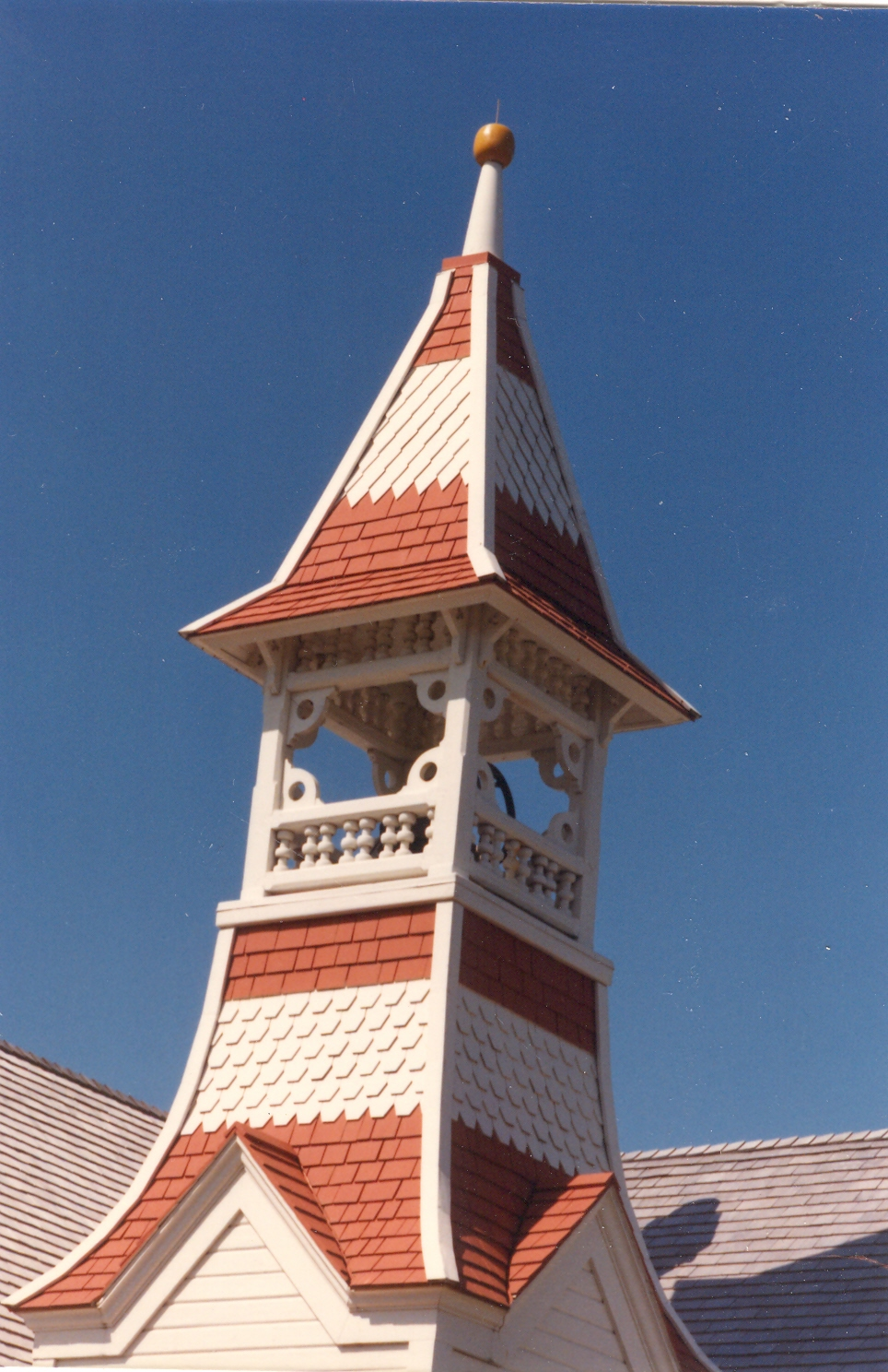 Oysterville Church Steeple