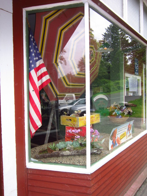 The Other Oysterville Store Window