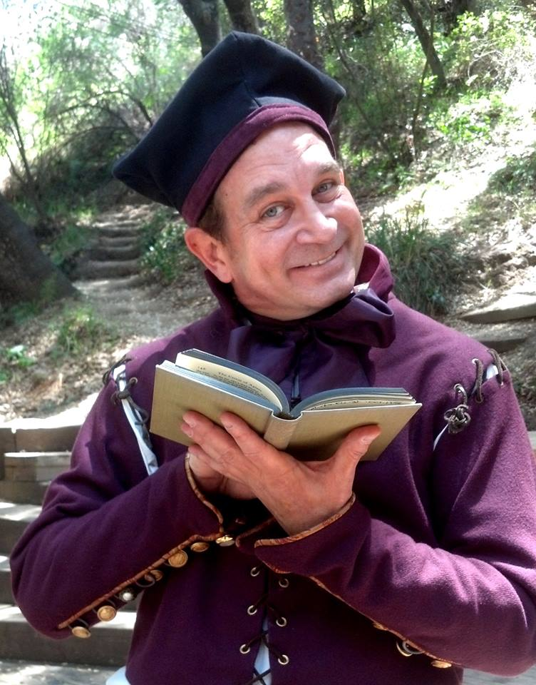 Charlie as The Pedant in The Taming of the Shrew