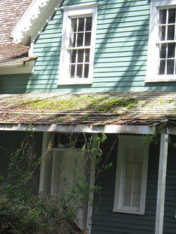Porch Roof, John Crellin House, 2015