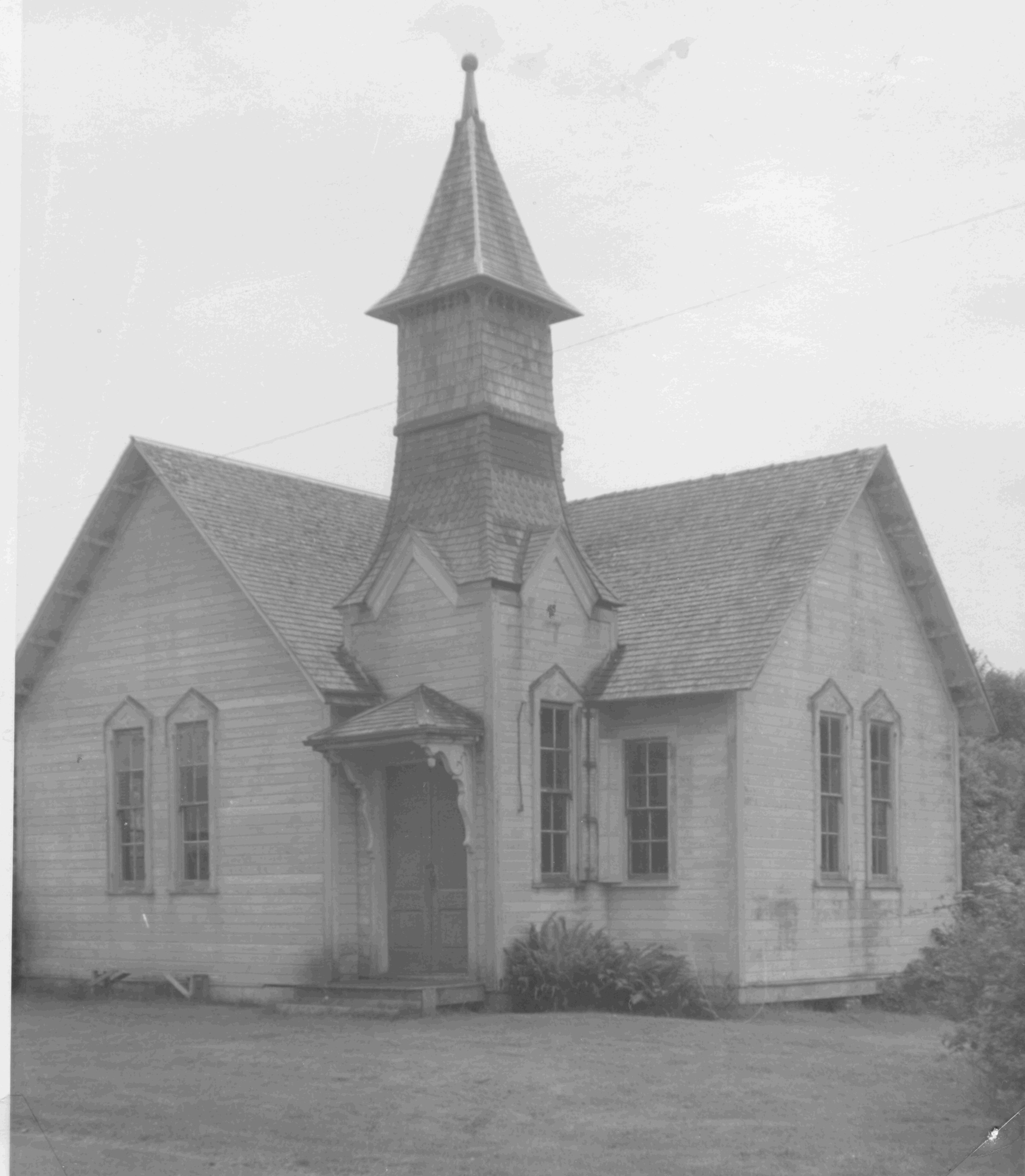 Oysterville Baptist Church 1964