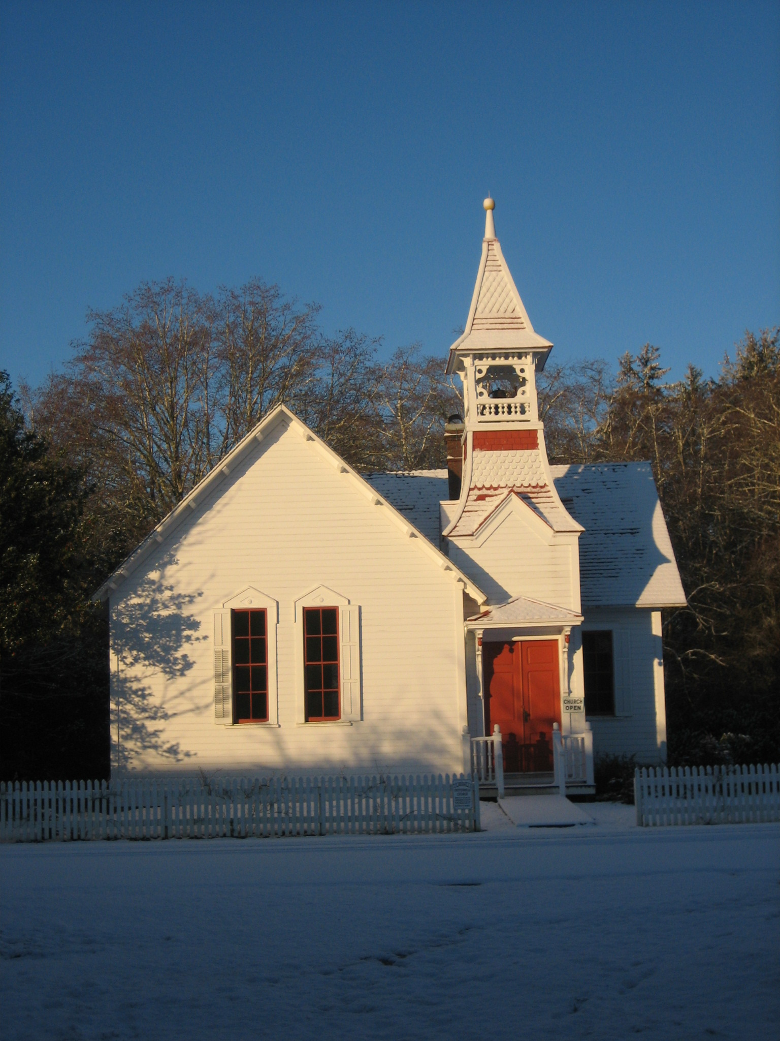 Oysterville Church, Jan. 11, 2007
