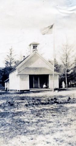 Oysterville School 1920s