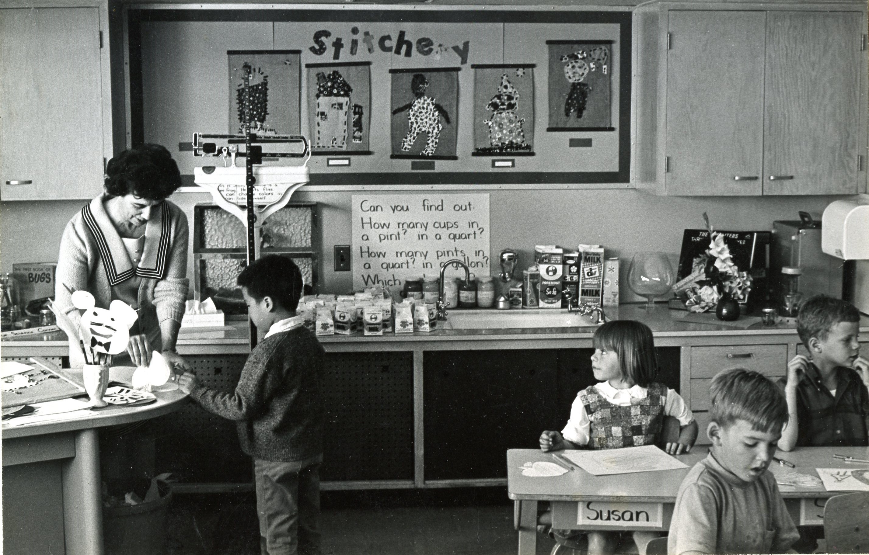 Classroom Back in the Day