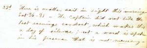 Cornelia's Log: February 23, 1855