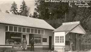 Oysterville Store and Post Office c. 1940