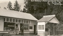 Oysterville Store c. 1940