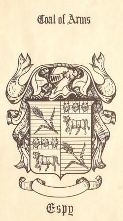 Espy Coat of Arms... Pehaps