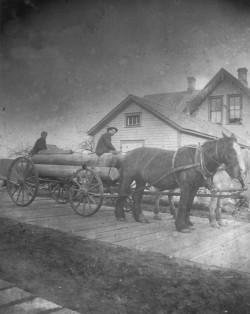 Oysterille Street Scene 1890s