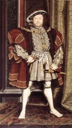 Lost Portrait of Henry viii by Hans Holbein the Younger