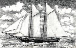 """Oyster Schooner """"Louisa Morrison"""""""