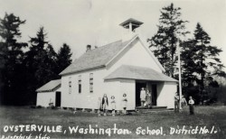 Oysterville School, 1940s
