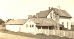 Three Chimneys and Three Rain Barrels, 1920