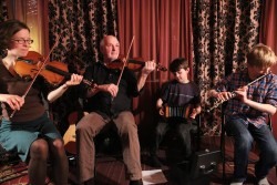 Bays Family Irish Musicians - Coming to Vespers Sunday!