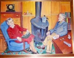 Helen & Harry Espy,1947 by Hilda Cole Espy