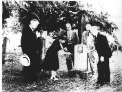 PCHS Outing to Visit Willie Keil's Grave, 1953