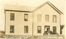 Pacific County Courthouse, Oysterville (1855-1892)