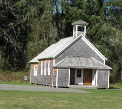 Oysterville Schoolhouse