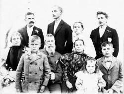 R.H. Espy Family, 1895