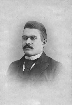 F.A. Hazeltine, circa 1901