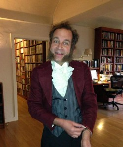 Charlie in Dickensian Mode