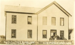 County Courthouse in Oysterville 1875-1893