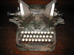 Mrs. Crouch's Typewriter