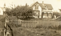 Fruit Trees at Left?  c. 1920