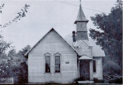 Oysterville Church Before Restoration