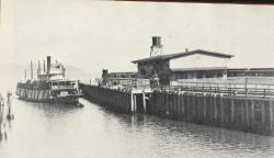 Megler Landing in the Days of the Steamers