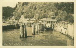 Megler Ferry Landing, c. 1930s