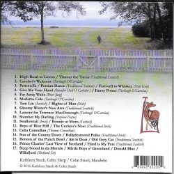 CD Back Cover - Photo of Colin heading across the meadow to work in the oyster beds