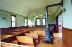 Inside the Oysterville Church