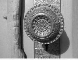 Clue:  Church Doorknob