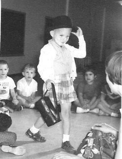 Charlie at Three, Claremont Day School, 1959