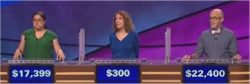 Jeopardy! Contestants 11/4/2016