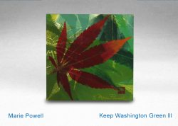 """Keep Washington Green III"""" by Marie Pwell"