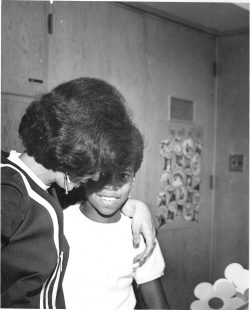 Sydney with 2nd Grader, Southgate School, Hayward, CA - 1962