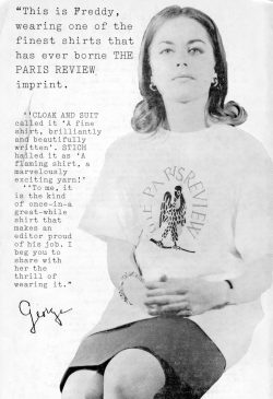Freddy Modeling Paris Review T-Shirt, 1960s