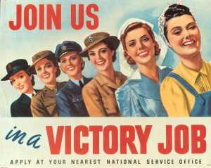 Victory Jobs Poster